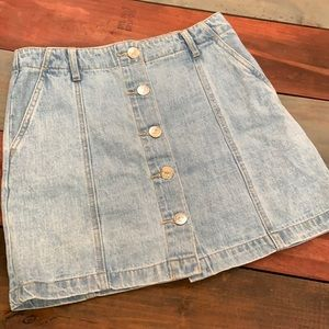 3 FOR $20 Forever 21 Button Up Jean Skirt Size 26